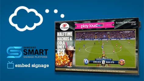 Eclipse Digital Media - Digital Signage Solutions - Samsung Smart Signage Platform (SSP) SOC Displays and embedsignage.com - All In One Digital Signage