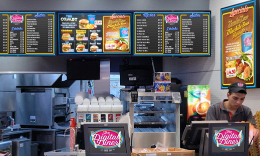 Eclipse Digital Media embed Digital Menu Boards