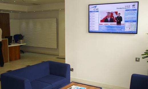 Eclipse Digital Media Digital Signage In Corporate Businesses