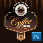 Eclipse Digital Media Digital Signage PSD Digital Menu Board Template Coffee Shop Design Version 2