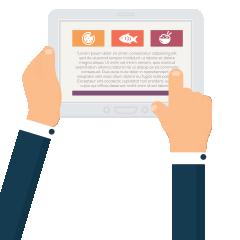 Eclipse Digital Media - Digital Signage Solutions - embed Digital Menu Boards - Easily Create Interactive Touch Menu Board Content