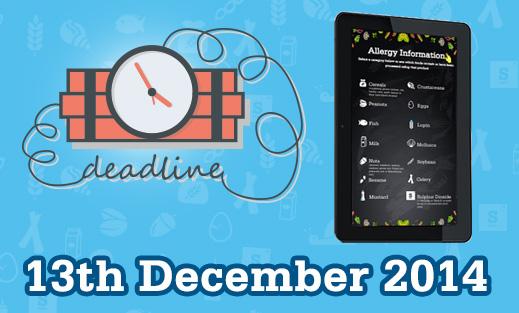 Eclipse Digital Media - Digital Signage Solutions - Digital Allergy Information Boards Deadline