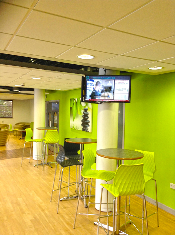 Eclipse Digital Media Stretham and Clapham High School Sixth Form Digital Signage Installation Case Study