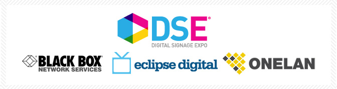 Black Box to display embed Digital Menu Board content at DSE 2013