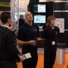 Eclipse Digital Media with ONELAN at ISE Amsterdam 2013 Exhibiting Digital Menu Boards Drew & Ty Exhibiting