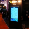 Eclipse Digital Media with ONELAN at ISE Amsterdam 2013 Exhibiting Digital Touch Menu Boards