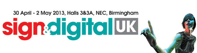 Eclipse Digital and Output Magazine at Sign & Digital UK 2013