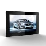 "Eclipse Digital Media Digital Signage 19"" Full HD LED, USB Updated, Slimline Digital Advertising Display Front"