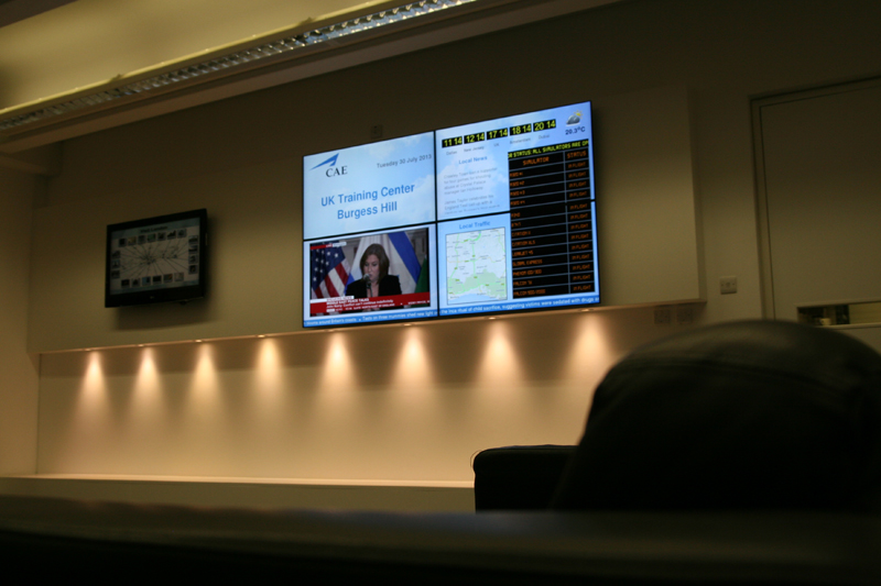 eclipse digital media digital signage solutions CAE videowall