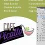 Eclipse Digital Media Digital Signage Cafe / Canteen Style Digital Menu Board Photoshop PSD Template - Editable Logo