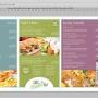 Eclipse Digital Media Digital Signage Cafe / Canteen Style Digital Menu Board Photoshop PSD Template - Full