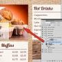 Eclipse Digital Media Digital Signage PSD Digital Menu Board Template Coffee Shop Design Version 1 Placeholder Images