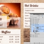 Eclipse Digital Media Digital Signage PSD Digital Menu Board Template Coffee Shop Design Version 1 Editable Promotional Boxes