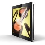 """Eclipse Digital Media Digital Signage USB Updated 46"""" Slimline Digital Advertising Display Landscape Side"""