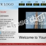 Eclipse Digital Media Digital Signage - Corporate / Business Template - ONELAN Digital Signage Layout Package Full Edited