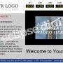 Eclipse Digital Media Digital Signage - Corporate / Business Template - ONELAN Digital Signage Layout Package Full