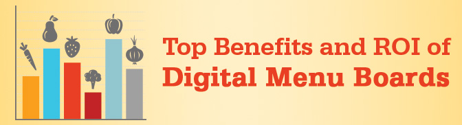 Top Benefits and ROI of Digital Menu Boards 2014