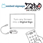 Eclipse Digital Media Digital Signage - Zero Devices Z4C embed signage player - Android Quad Core Digital Signage Mini PC Media Player - Turn Any Screen Into A Digital Sign