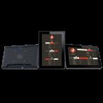 Eclipse Digital Media Digital Signage Solutions - embed cloud based Digital Menu Boards 10 inch Tablet Overview