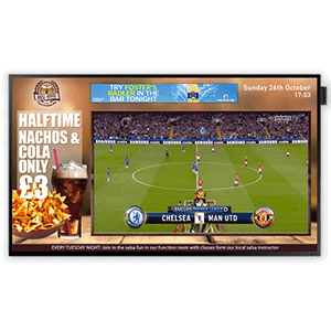 eclispe digital media sports bar screen solution feature