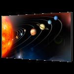 "Eclipse Digital Media - Digital Signage Solutions - Samsung Smart Signage Platform (SSP) SOC Displays - 55"" 700 nits Brightness Super Narrow Bezel Video Wall Display - UD55D - Front Angle"