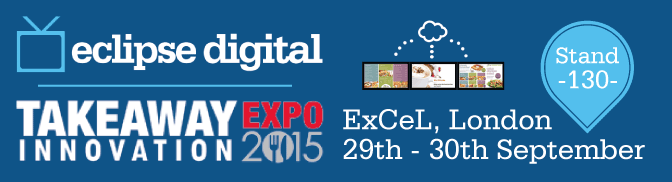 Eclipse Digital at the Takeaway Innovation Expo 2015
