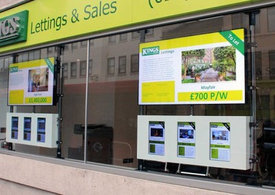 eclipse digital media digital signage solutions kings lettings digital signage front 3