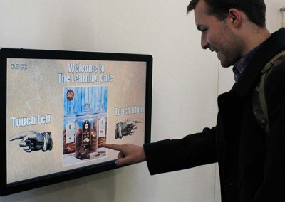 eclipse digital media digital signage solutions university of winchester elo touch 2