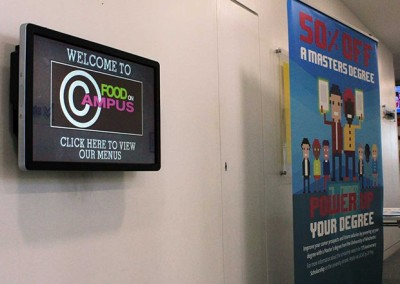 eclipse digital media digital signage solutions university of winchester elo touch 5