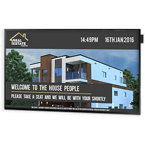 eclipse digital media reception displays for estate agents