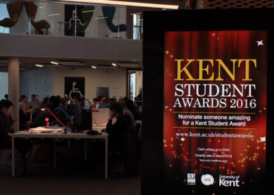 eclipse digital media digital signage solutions university of kent 6