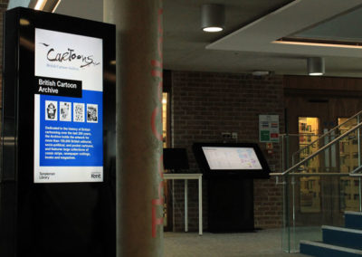eclipse digital media digital signage solutions university of kent 8