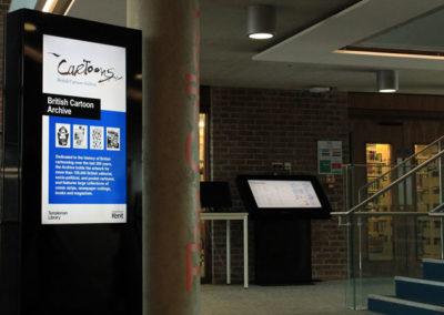 eclipse digital media digital signage solutions university of kent 8