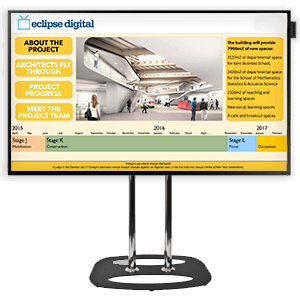 eclispe digital media sales and marketing suite digital signage