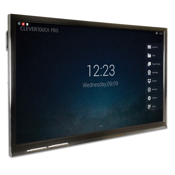 65 Clevertouch Pro Interactive Touch Screen Eclipse