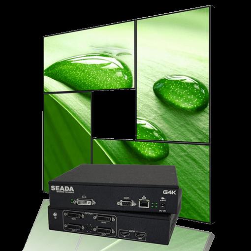 Seada G4K Fanless Video Wall Controller