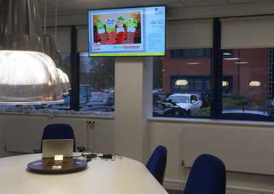 eclipse digital media digital signage solutions danone nutricia early life nutrition corporate digital signage 2