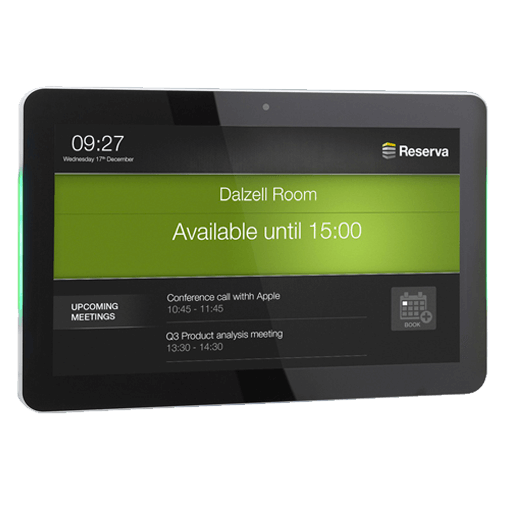 Eclipse Digital Media - Digital signage Shop - Reserva Room Signs
