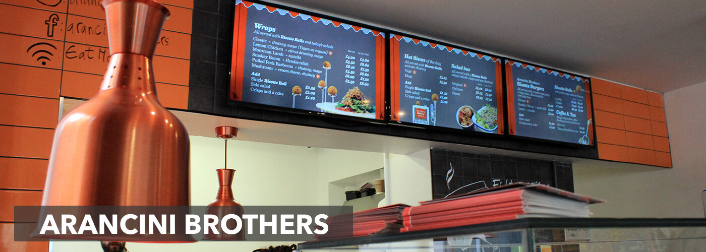 eclipse digital media arancini brothers digital menu boards 1