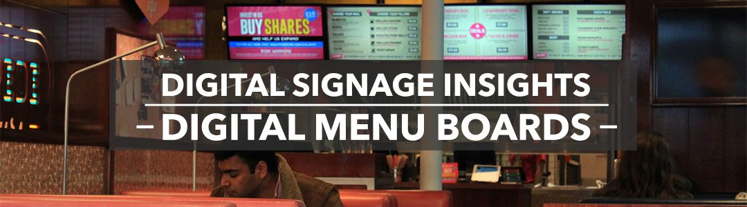 DIGITAL SIGNAGE INSIGHTS: FOOD SECTOR FREE Digital Menu Board Layout