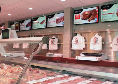 eclipse digital media digital signage project digital menu boards tariq halal meats 2