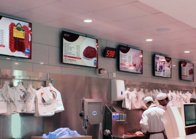 eclipse digital media digital signage project digital menu boards tariq halal meats 4