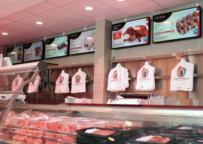 eclipse digital media digital signage project digital menu boards tariq halal meats
