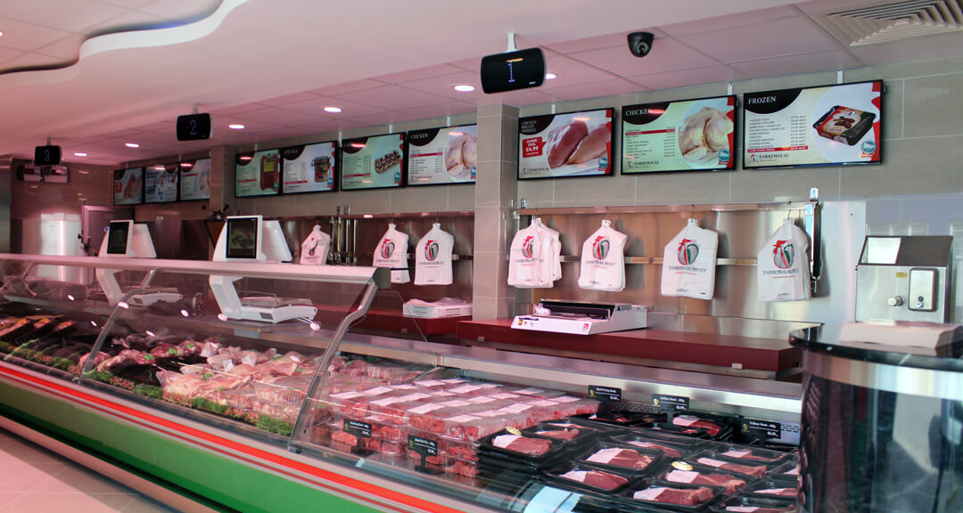eclipse digital media digital signage project digital menu boards tariq halal meats example