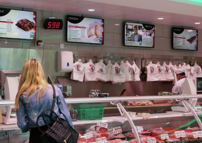 eclipse digital media digital signage project digital menu boards tariq halal meats 7