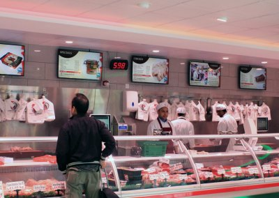 eclipse digital media digital signage project digital menu boards tariq halal meats 8