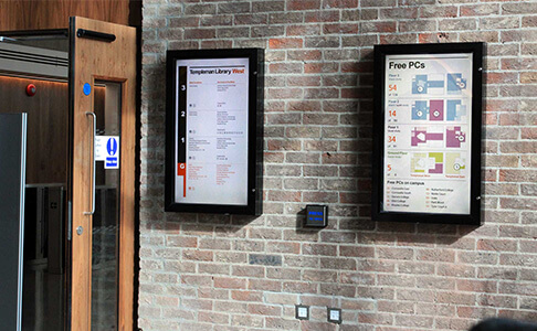 eclispe digital media - digital signage - london build expo