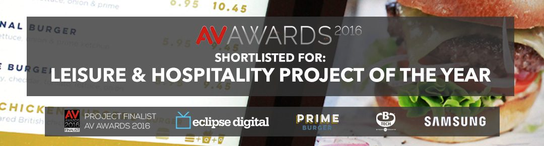 ECLIPSE DIGITAL FINALIST AT AV AWARDS 2016