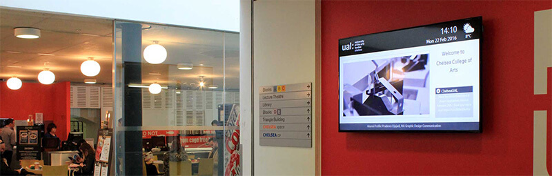 eclipse digital media digital signage project chelsea college of arts 4