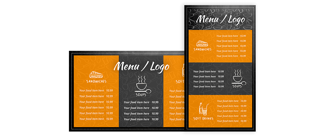 eclipse digital media digital menu boards free template